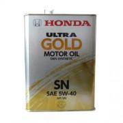 HONDA Ultra Gold-SN 5W-40 Масло моторное 4л.