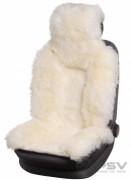 Меховая накидка PSV Jolly Premium белый