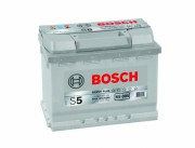 Bosch Аккумуляторная батарея S5 005 Силвер плюс 12V 63Ah 610A