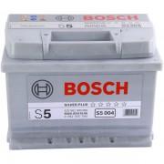 Bosch Аккумуляторная батарея S5 004 Силвер плюс 12V 61Ah 600A